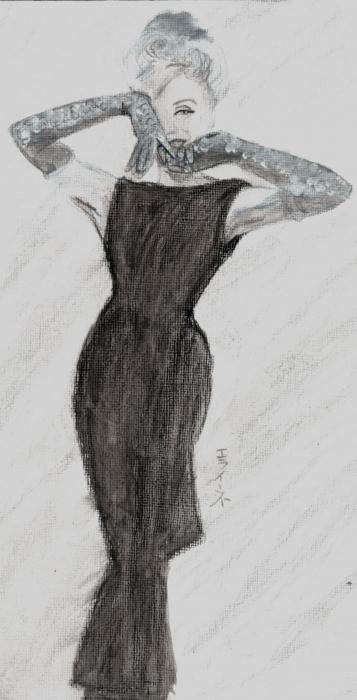 Marilyn Monroe par elaine13sp